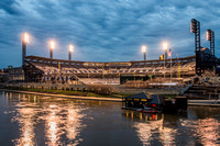 A view of PNC Park on Opening Day 2015 in Pittsburgh