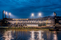 PNC Park in Pittsburgh shines on the morning of Opening Day
