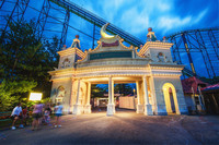 Lost Kennywood entrance at Kennywood Park HDR