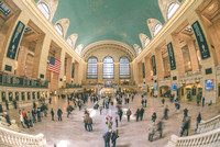 Hustle and bustle in Grand Central Terminal in New York City