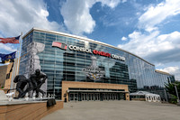 The Stanley Cup Champions Banner for the Pittsburgh Penguins on CONSOL Energy Center - 1