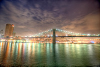 Brooklyn and Manahattan Bridges HDR