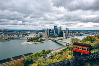 A cloud fall day in Pittsburgh