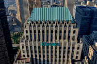 The Koppers Building from above in Pittsburgh