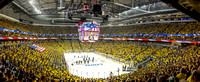 Panorama of the national anthem at game 1 of the 2016 Stanley Cup Final