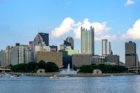 A view of Pittsburgh from the Gateway Clipper