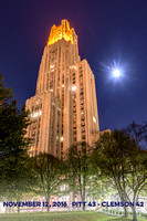 Victory Lights - Cathedral of Learning - Clemon Score