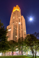 Victory Lights - Cathedral of Learning - Clemson
