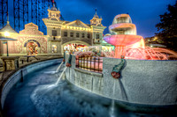 Fountain at Kennywood Park HDR