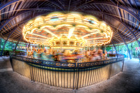 Carousel at Kennywood Park HDR