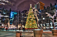PPG Place Christmas tree HDR