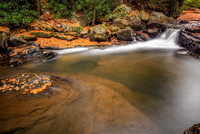 Pool below the natural rock slides at Ohiopyle State Park