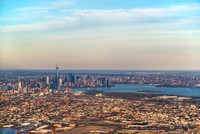 New Jersey and New York City from above