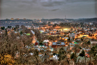 View of Carnegie, PA in HDR
