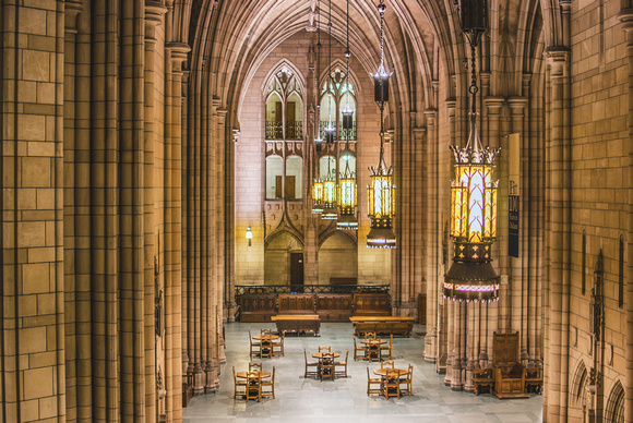 Inside the Cathedral of Learning at the University of Pittsburgh