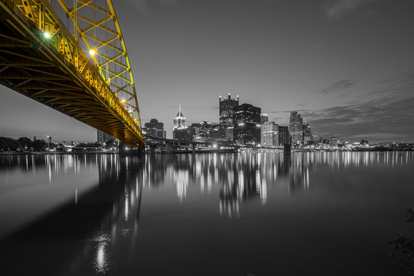Ft. Pitt Bridge at dawn SC