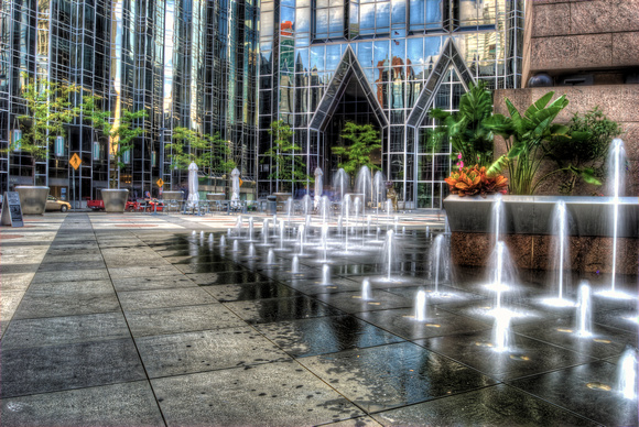 Fountains at PPG Place HDR