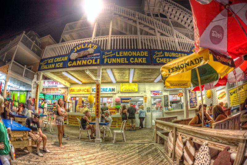 Food Ocean City Md Boardwalk