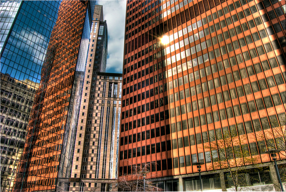 PNC Plaza in downtown Pittsburgh HDR