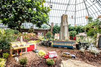 Phipps Conservatory in Pittsburgh - Winter 2016 Light Show and Train Display - 006