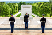 Changing of the Guard at the Tomb of the Unknown Soldier in Arlington National Cemetery