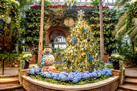 Phipps Conservatory in Pittsburgh - Winter 2016 Light Show and Train Display - 001