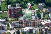 Aerial view of Immaculate Heart of Mary Church