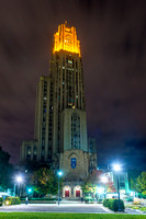Victory Lights - Cathedral of Learning - Georgia Tech