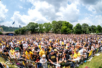 Crowds gather in Point State Park for the Pittsburgh Penguins Stanley Cup Parade