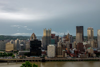 Lightning strikes over Pittsburgh during a storm (8 of 8)